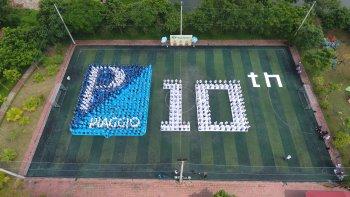 Piaggio ghi dấu 10 năm chính hãng tại Việt Nam
