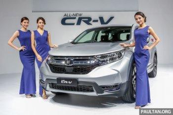 Honda CR-V thế hệ mới hút khách tại Malaysia