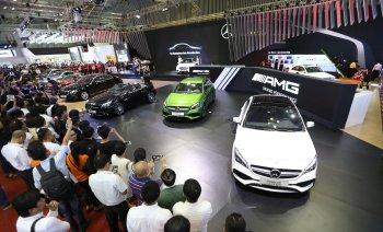 """VIMS 2017: Mercedes-Benz VN bày """"hàng độc"""", hỗ trợ 50 triệu đồng"""