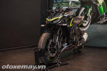 Cận cảnh Kawasaki Z1000 và phiên bản R Edition 2018
