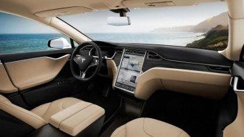 10 mẫu xe có màn hình cảm ứng khủng nhất