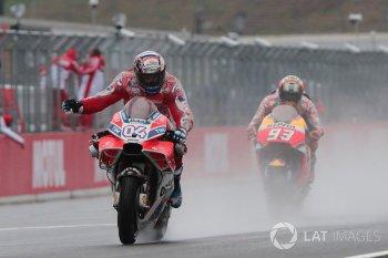 """Chặng 15 MotoGP 2017: Ducati đả bại Honda trong trận """"thủy chiến"""""""