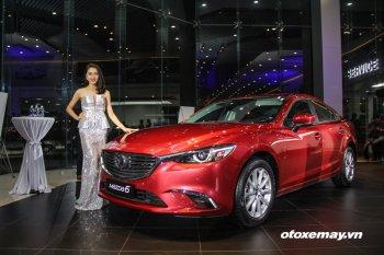 Mazda6 giảm giá bán, quyết giành thị phần trong phân khúc sedan D