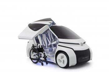 Toyota Concept-i Ride: Xe điện cho người khuyết tật