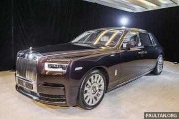 Rolls-Royce Phantom 2018 bất ngờ xuất hiện Đông Nam Á