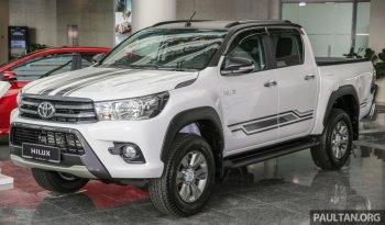 Ế ẩm ở Việt Nam, Toyota Hilux nâng cấp ở Thái Lan