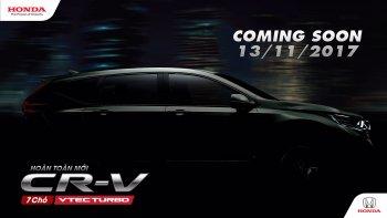 Honda CR-V 7 chỗ sẽ ra mắt giữa tháng 11/2017