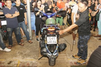 Hội Yamaha NVX tụ tập khoe xe cực độc