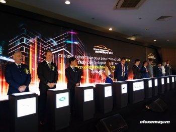 Triển lãm xe quốc tế VIMS 2017 chính thức khai mạc