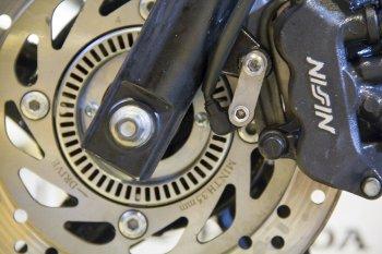 Quá trình nâng cấp phanh ABS cho Honda SH đầu tiên tại Hà Nội
