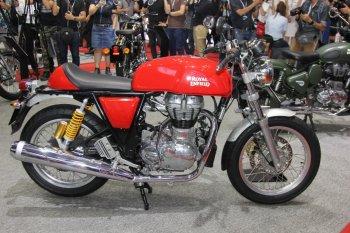 VIMS 2017: Royal Enfield tung môtô Cafe Racer 535 phân khối rẻ nhất Việt Nam giá 137 triệu đồng