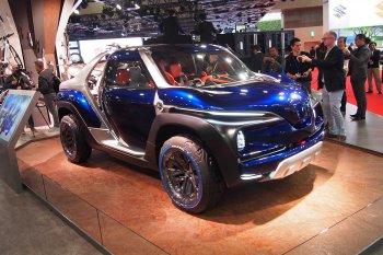 Ôtô Yamaha kỳ dị tại Tokyo Motor Show 2017