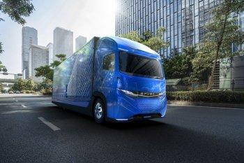 Fuso nổi danh xe tải điện ở Tokyo Motor Show