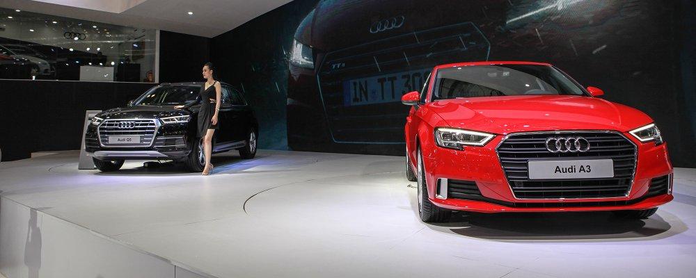 Cận cảnh Audi A3 Sportback mới tại VIMS 2017
