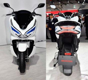 Chiêm ngưỡng Honda PCX chạy điện và Hybrid sắp ra mắt