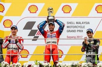 Chặng 17 MotoGP 2017: Chiến thắng giúp Dovizioso nuôi hy vọng vô địch