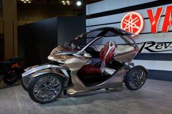 Yamaha MWC-4: Xe môtô lai ôtô