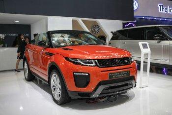 Lạ mắt với Range Rover Evoque phiên bản mui trần