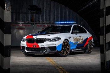 BMW M5 2018 sẽ là Xe an toàn của MotoGP 2018