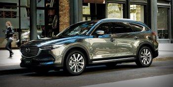 Ảnh thực tế SUV Mazda CX-8 vừa ra mắt tại Nhật Bản