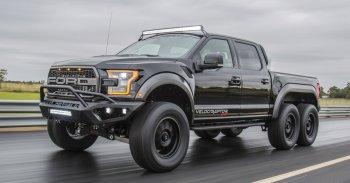"""Ford F150 phiên bản """"Quái vật"""" 6 bánh VelociRaptor"""