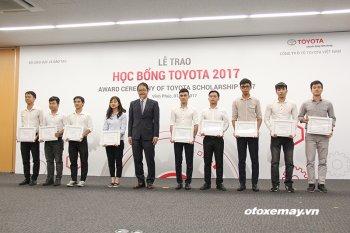 Học bổng Toyota khuyến khích tinh thần học tập của sinh viên