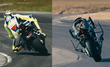 """Valentino Rossi khiến robot tự lái của Yamah """"thua đau"""""""