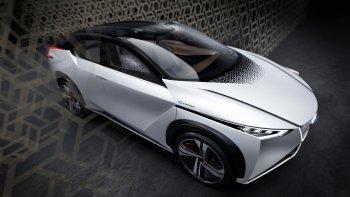 Nissan giới thiệu xe điện tự lái hoàn toàn  - IMx Concept