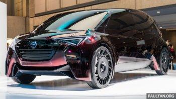 Toyota giới thiệu dòng xe cao cấp sử dụng nhiên liệu hydro