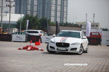 Trải nghiệm lái đặc biệt các dòng xe Jaguar tại Sài Gòn