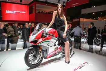 EICMA 2017: Ducati trình làng quái vật 214 mã lực Panigale V4