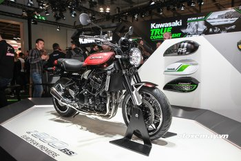EICMA 2017: Chiêm ngưỡng hai phiên bản Kawasaki Z900RS