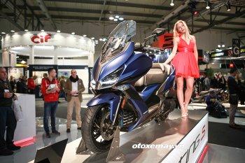 EICMA 2017: Kymco giới thiệu xe tay ga Xciting S 400 2018 hầm hố