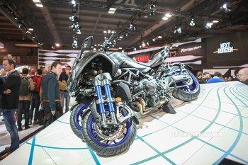 Yamaha Niken tỏa sáng một góc EICMA 2017