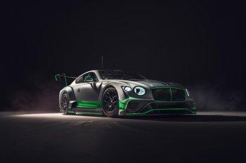 Bentley hé lộ những hình ảnh đầu tiên về mẫu xe đua Continental GT3