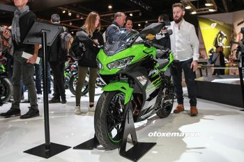 EICMA 2017: Cận cảnh Kawasaki Ninja 400 có thể về Việt Nam