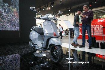 EICMA 2017: Vespa trình làng phiên bản nâng cấp của Sprint S 2018