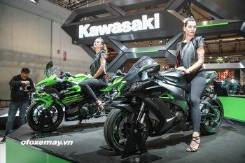 Kawasaki giới thiệu ZX-10R phiên bản đặc biệt tại EICMA 2017