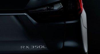 Lexus RX ba hàng ghế hoàn toàn mới xuất hiện tại LA Auto Show