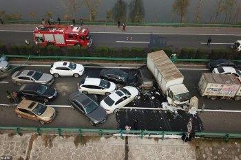 Đâm xe liên hoàn làm 18 người chết tại Trung Quốc có thể do ô nhiễm không khí