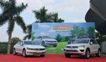 Volkswagen Việt Nam tài trợ xe tiền tỉ cho giải Golf Chí Linh