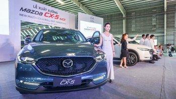 Mazda CX-5 mới chính thức được bán ra với giá cao nhất 989 triệu đồng
