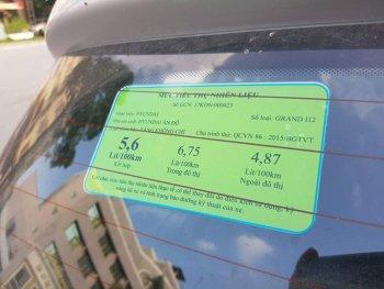 Ô tô từ 7 đến 9 chỗ buộc phải dán nhãn năng lượng trước khi đưa ra thị trường