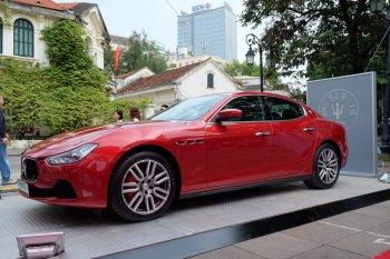 Maserati Ghibli, điểm sáng tại Tuần lễ Italia tại Hà Nội