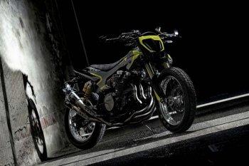 """Yamaha XJR1300 độ flat track """"ngông"""" dành riêng cho Rossi"""