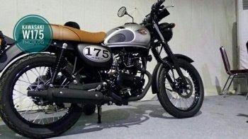 Kawasaki ra mắt môtô classic W175 giá rẻ