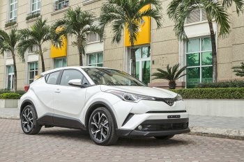Cận cảnh miniSUV Toyota C-HR đầu tiên tại Việt Nam