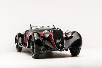 Alfa Romeo 6C 2500 SS Spider 1942: Ngắm xế cổ giá triệu đô