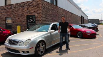 Kiểm tra sức mạnh của động cơ Mercedes-AMG E55 sau hơn 600 nghìn km