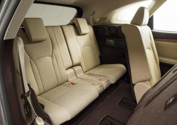 Lexus tiết lộ hình ảnh chính thức của RX 7 chỗ ngồi